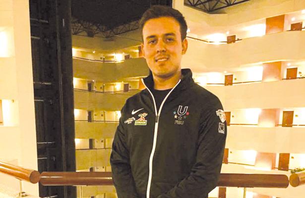 El arquero Antonio Hidalgo buscará avanzar a cuartos de final en la Universiada Mundial en China. / El Sudcaliforniano