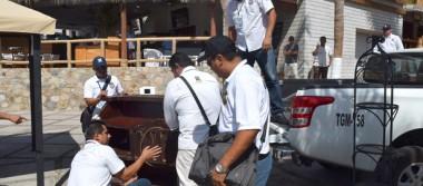 Comerciantes sin permiso serán retirados de El Médano