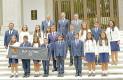 Alumno de Conafe fue recibido por el presidente Enrique Peña