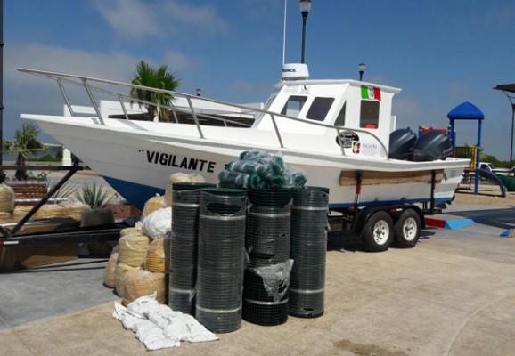 Entregará gobernador embarcaciones para fortalecer la vigilancia