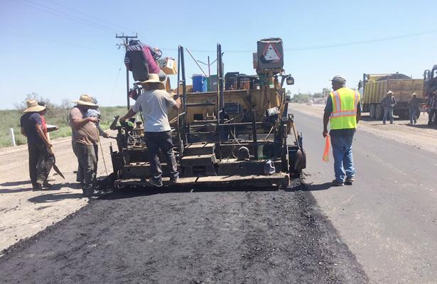 Reinicia SCT trabajos de la carretera