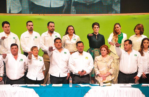 Celebra PVEM asamblea estatal
