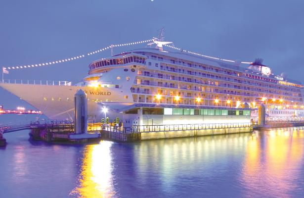 Hoy arriba el lujoso crucero The World a Los Cabos