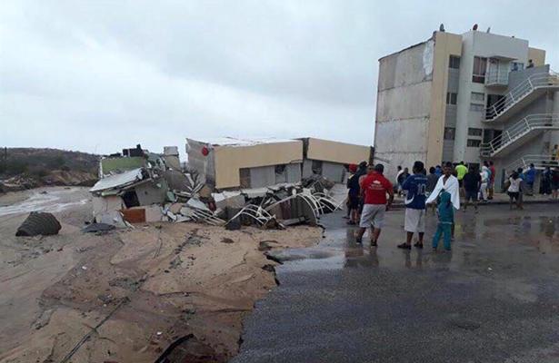 De 6,000 viviendas afectadas por Lidia, un 30% tienen pérdida total