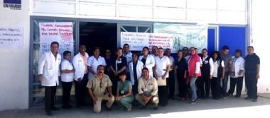 Rechazan a administrador del Centro de Salud en Comondú