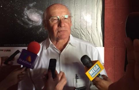 Doctor Ramón Ojeda Mestre, presidente del Comité Organizador del Congreso. / El Sudcaliforniano