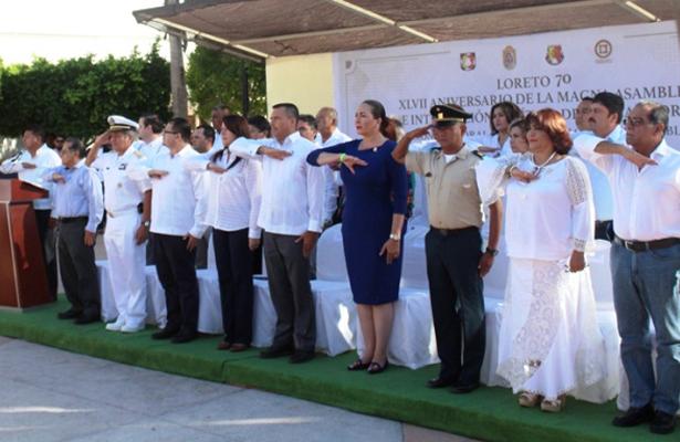Celebran el XLVII aniversario de Loreto 70