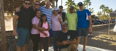 Equipo Gringo Viejo dona su premio a Onco Reto