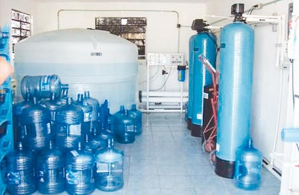 Clausuraron 9 plantas purificadoras