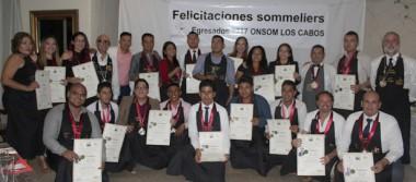 Se graduaron 24 nuevos sommelier de Onsom