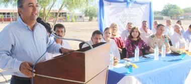 Inaugura alcalde de Comondú, los festejos del 40 aniversario de secundaria