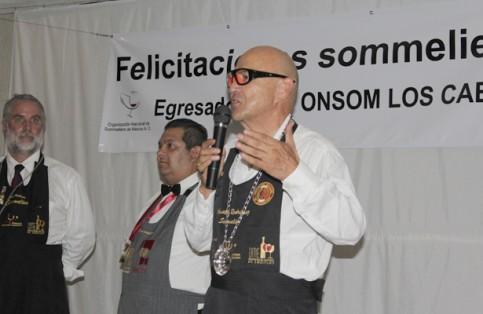 El ingeniero químico Agustín Rodríguez, Sommelier de profesión y fundador de la asociación nacional Onsom México. (Foto: A. Arana). / El Sudcaliforniano
