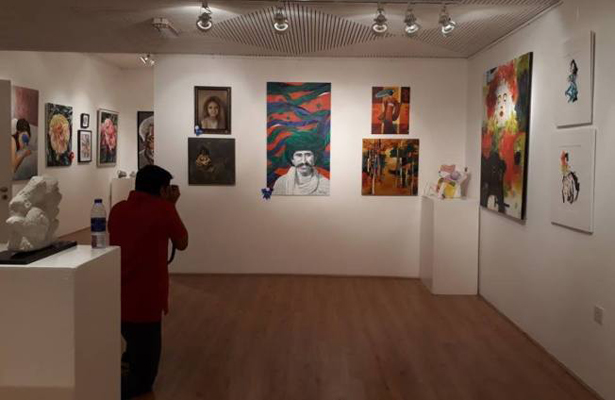Artista sudcaliforniana expone en Dubái