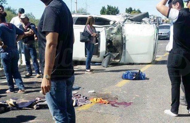 Fatal accidente en Santa Rita
