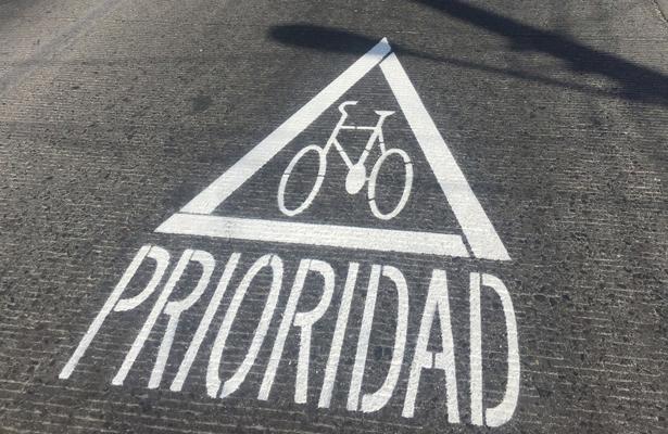 Imposible usar la bicicleta como medio de transporte