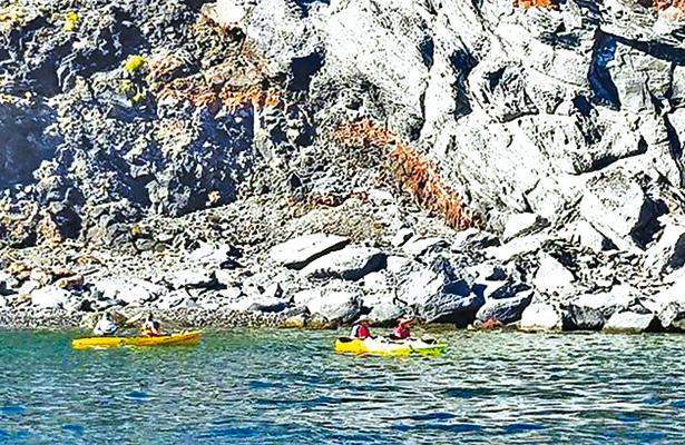 Inician tours de kayak en la bahía de Loreto