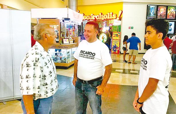 Confía Ricardo García en conseguir las firmas