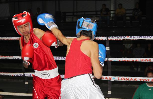Excelentes peleas se pudieron presenciar durante el evento selectivo municipal. (Cortesía / IMD) / El Sudcaliforniano