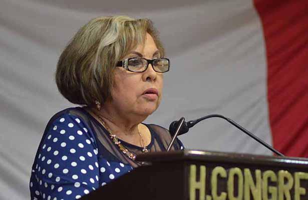 Diputada Guadalupe Rojas de Morena en desacuerdo con Amlo