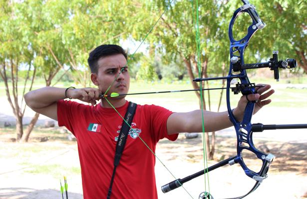 El arquero Antonio Hidalgo tiene bien claros sus objetivos y es llegar a Juegos Olímpicos. (Archivo) / El Sudcaliforniano