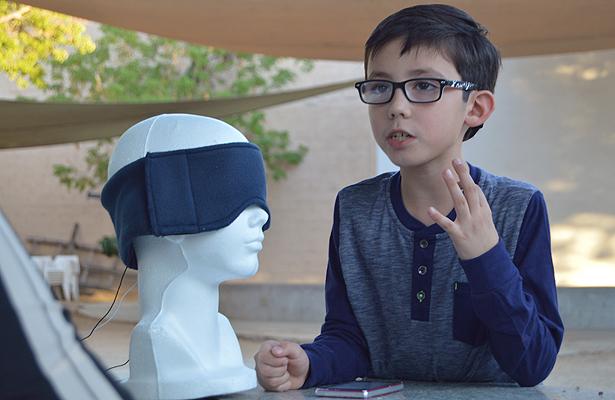 Niño sudcaliforniano de 9 años es ya un inventor