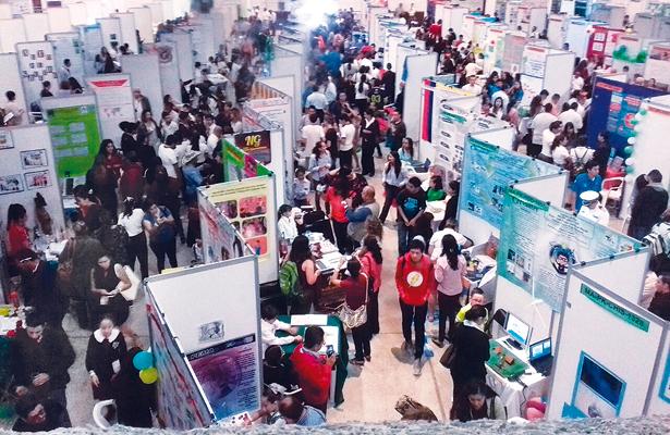 Inicia ExpoCiencias 2017 con la asistencia de 1600 estudiantes