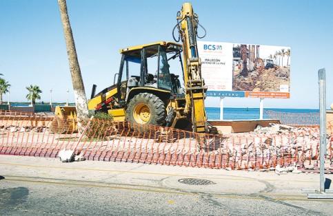 Obras del malecón con 83% de avance