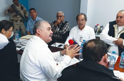 El titular de APIBCS, José López Soto, afirmó que los resultados fueron bastante favorables para los productores de sardina de Puerto San Carlos durante el 2017. Arturo Corona / El Sudcaliforniano