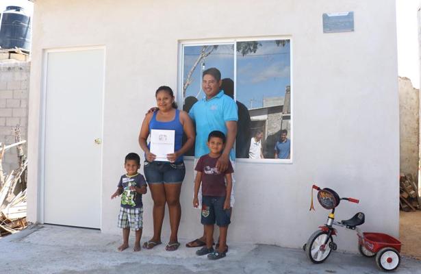 """Se benefician 50 familias con la construcción de """"Recámara Adicional"""""""