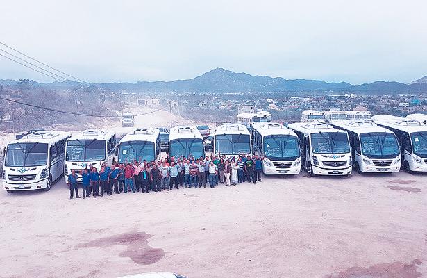 Entrarán en circulación nuevas unidades de transporte en Los Cabos