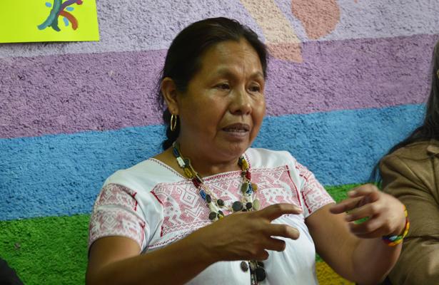 Marichuy del EZLN ve complicado recolectar las firmas
