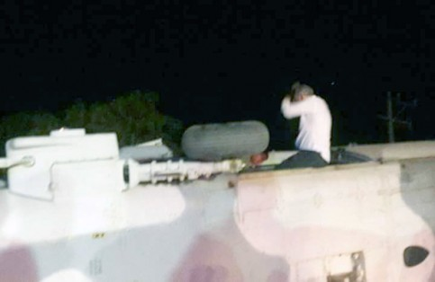 Resguardan retiro de helicóptero caído en Oaxaca