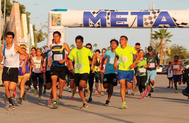 La tradicional carrera pedestre se celebrará hoy en 5K y 10K. Cortesía / El Sudcaliforniano