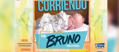 Carrera en beneficio del bebé Bruno