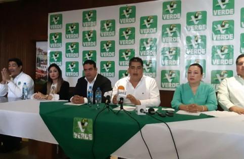 El PVEM anunció candidaturas a senaduría de primera fórmula, diputaciones federales y a alcaldías de La Paz y Los Cabos. /José Luis Villafuerte / El Sudcaliforniano