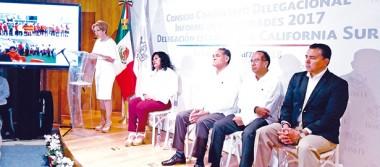 Presenta informe la delegada de ISSSTE