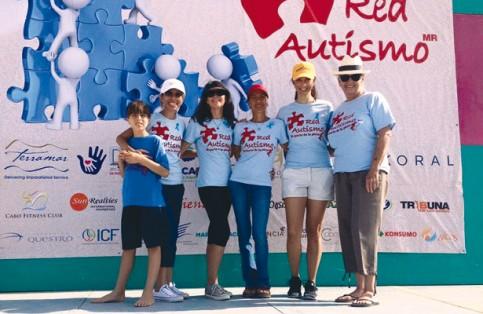 Red Autismo realizará formación de rompecabezas, símbolo del autismo. Archivo / El Sudcaliforniano