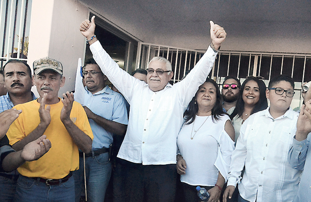 Antonio Ojeda ya es candidato a diputado por el distrito once