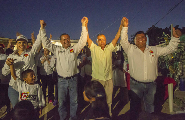 Miguel García, candidato a diputado del PVEM declinó a favor del PT
