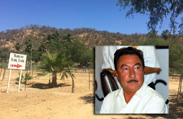 Pierde Narciso Agúndez el rancho San Juan