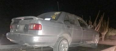 Mediante cateo, recuperan vehículo con reporte de robo