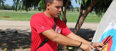 Antonio Hidalgo compite en la Copa Mundial