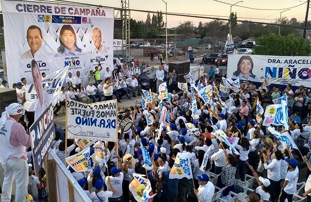 Cierran campañas panistas en Comondú