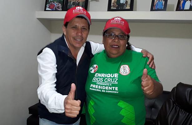 Renuncia Olga Carballo a su candidatura a la alcaldía de Comondú