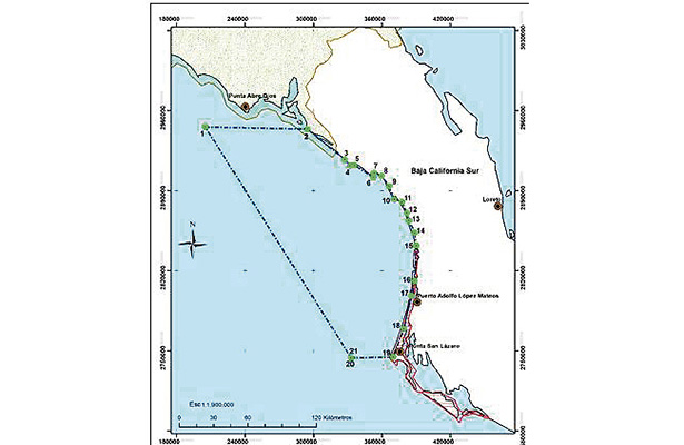 mapa refugio