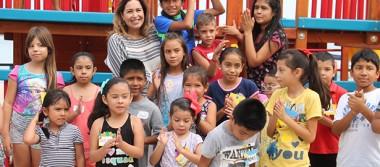 Inauguran área de Juegos en el malecón de La Paz