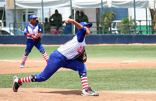 Lanza juego perfecto en Nacional de Beisbol U12