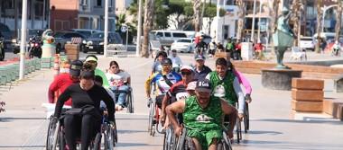 Llevan a cabo la Primera rodada para personas con discapacidad