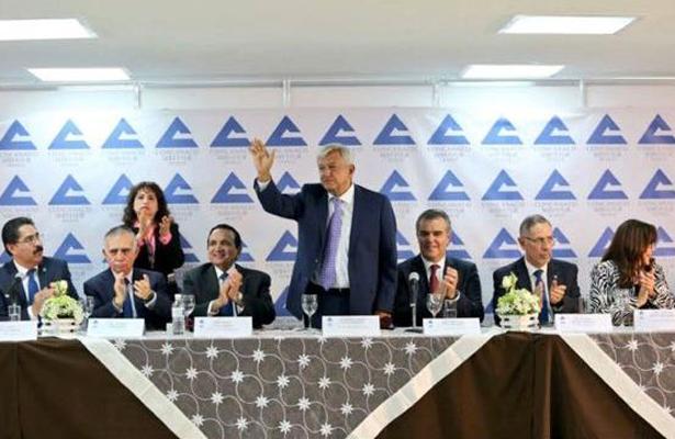 Representantes de Canaco en BCS se reunieron con Obrador