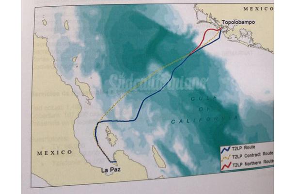 Inversión de 450 mdp en cable submarino
